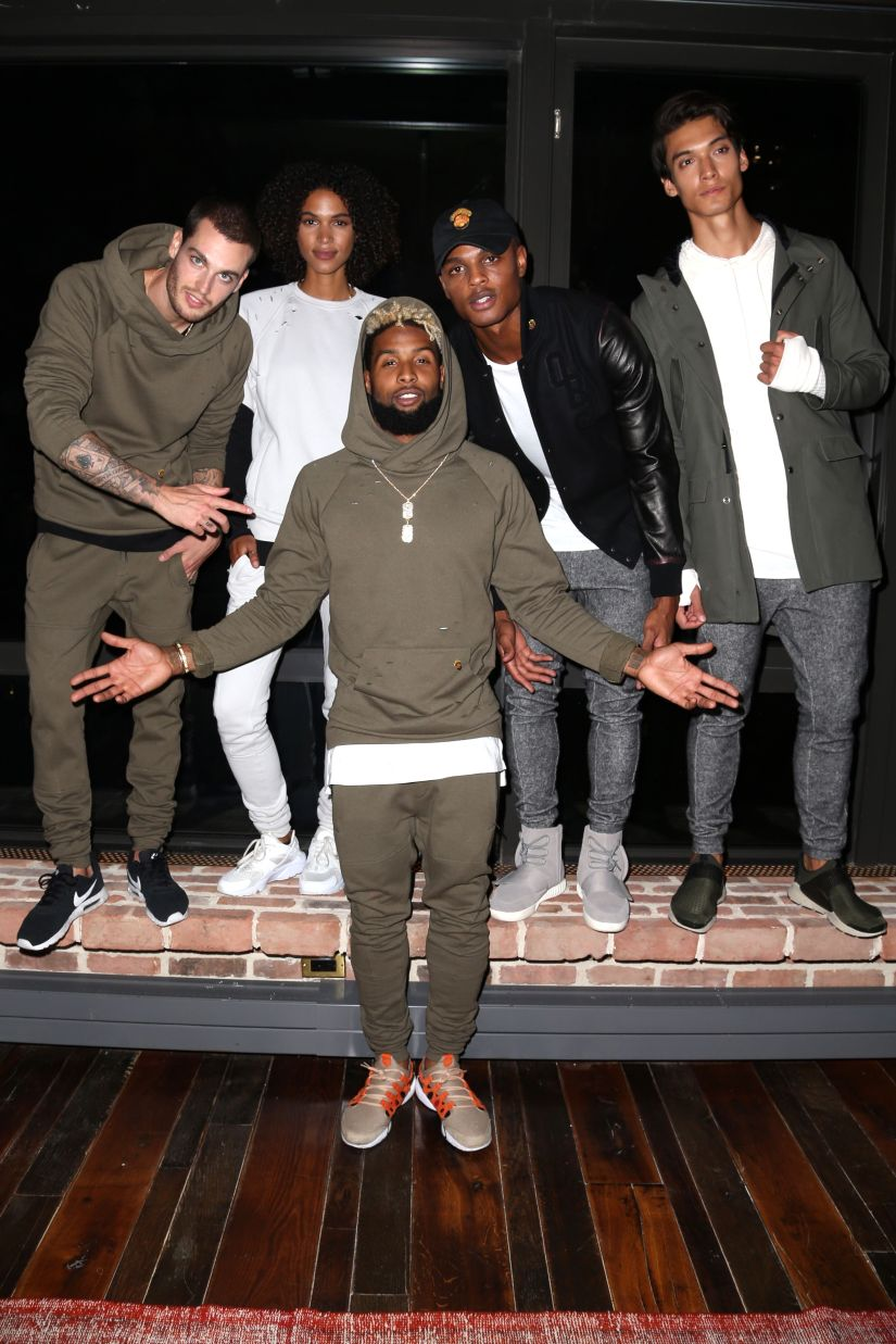 Bloomingdale's and GQ Launch 13 x twenty with Odell Beckham Jr., New York, USA - 06 Sep 2016