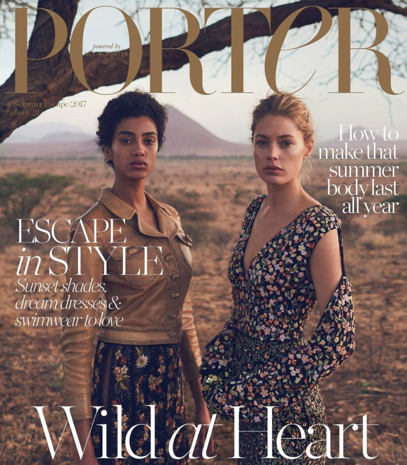 Porter-Magazine-Summer-Escape-2017-Doutzen-Kroes-Imaan-Hammam-1